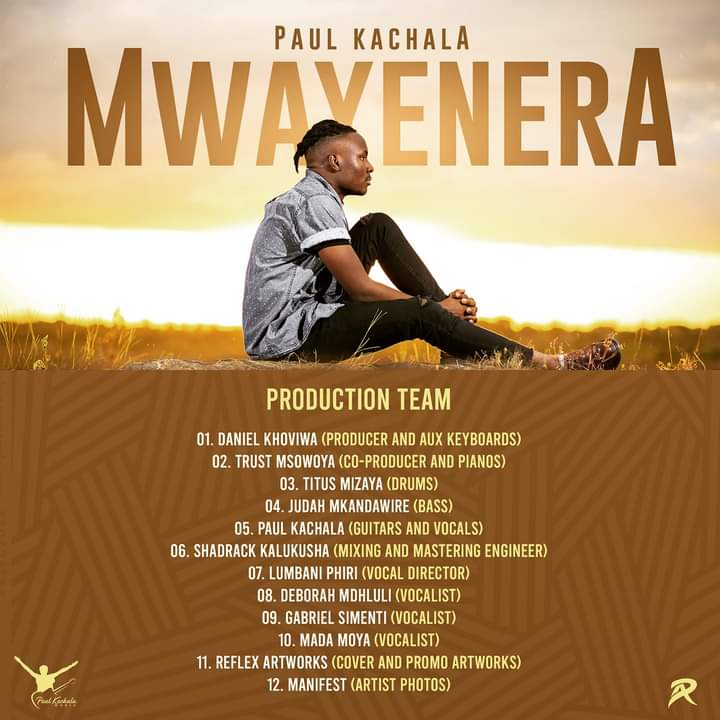 New Music Review: Mwayenela by Paul Kachala